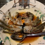 中華割烹 ひさだ - 上海蟹紹興酒漬け