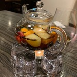 中華割烹 ひさだ - フルーツプアール茶