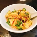 96034027 - 麻婆豆腐を小皿に取ってから食べます。(2018.10 byジプシーくん)