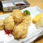 旬草 弥ひろ - 白子天ぷら
