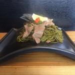 瓦茶そば 孝蔵 - 料理写真:皇牛ミスジ
