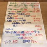 96039660 - メニュー