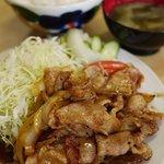 なかよし食堂 - 料理写真:豚バラしょうが焼き定