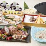 魚魯魚魯 - 姿造りと河豚焼しゃぶコース