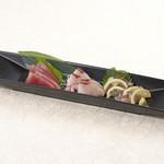 魚魯魚魯 - 刺身三点盛
