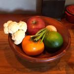 yamamotonohamba-gu - お昼のセットのジュースの素