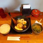 山本のハンバーグ - 山本のハンバーグ1,780円、お昼のセット
