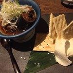 EN別邸 - 秋刀魚煮とクリームチーズ