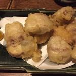 EN別邸 - 鮭の白子の天ぷら