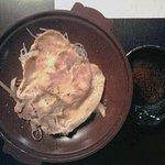 駒ヶ岳温泉 - 【夕食】陶板焼き