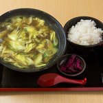 めん処マサムネ屋  - カレーラーメン麺定食