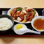 めん処マサムネ屋  - からあげ甘酢定食