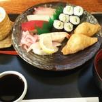 里川海 - 寿司定食  1080円
