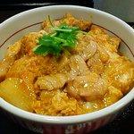 なか卯 - 親子丼並 490円 丼18センチ 鶏肉 たまご タマネギ 全てが美味しい