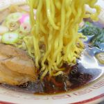 恵庭 おとん食堂 - 萬字ラーメンの麺