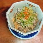 三楽 - ドテ煮