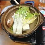 三楽 - 湯豆腐