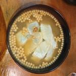 三楽 - 鯛茶漬け