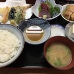 ふぉーかす - 料理写真:おまかせ定食@900円