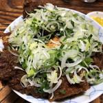 96055935 - 元祖味噌カツ丼ねぎトッピング
