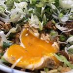 96055954 - 元祖味噌カツ丼ねぎトッピング