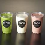 CAFE FLOR GELATO - ジェラートはシェイクにすることができます