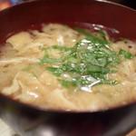 グルメハウス薔薇亭 - 味噌汁