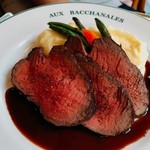 96058913 - 牛肉のロースト 赤ワインソース