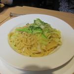 96059995 - キャベツのスパゲティ アンチョビ風味
