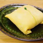 八竹 - 茶巾ずし