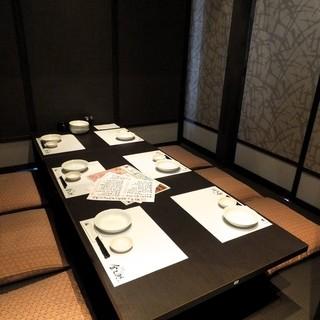 大小宴会にすべて対応の完全個室をご用意!