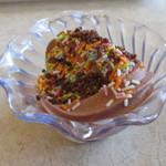 シズラー - チョコソフトクリーム