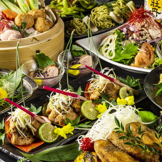 最高級食材使用!旬の食材にこだわった和食宴会コース