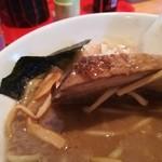 麺家 一鶴 - チャーシュー リフト