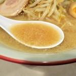 麺工房 大番 - スープ