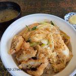 一木 - 料理写真:鱧カツ丼