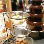 串家物語 - チョコレートファウンテン