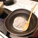 和牛肉バル 錦えもん - ★★★ゴマアイス 美味しい