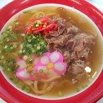 まーさんあしびなー琉球の食堂 - 料理写真:沖縄そば:780円(ご飯・スープ・サラダ好き)