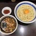 中華そば べんてん - 「つけ麺 並」850円+「辛味」100円