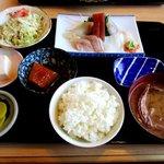 魚処おおたけ - 料理写真:刺身定食!