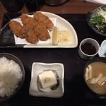 96078776 - カキフライ定食900円