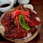 橅 - 豚丼
