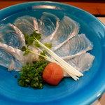 日本料理 野老 - 白身薄造り