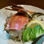 日本料理 野老 - ワタリガニ