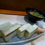日本料理 野老 - 鯖鮨