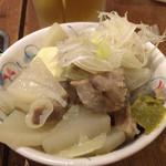 Kushikatsudengana - 牛もつ塩煮込み