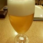 やぶそば - 生ビール