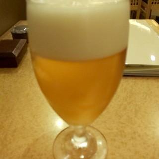 やぶそば - ドリンク写真:生ビール