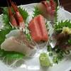 よしみ食堂 - 料理写真:お刺身盛合わせ 五点盛り 900円